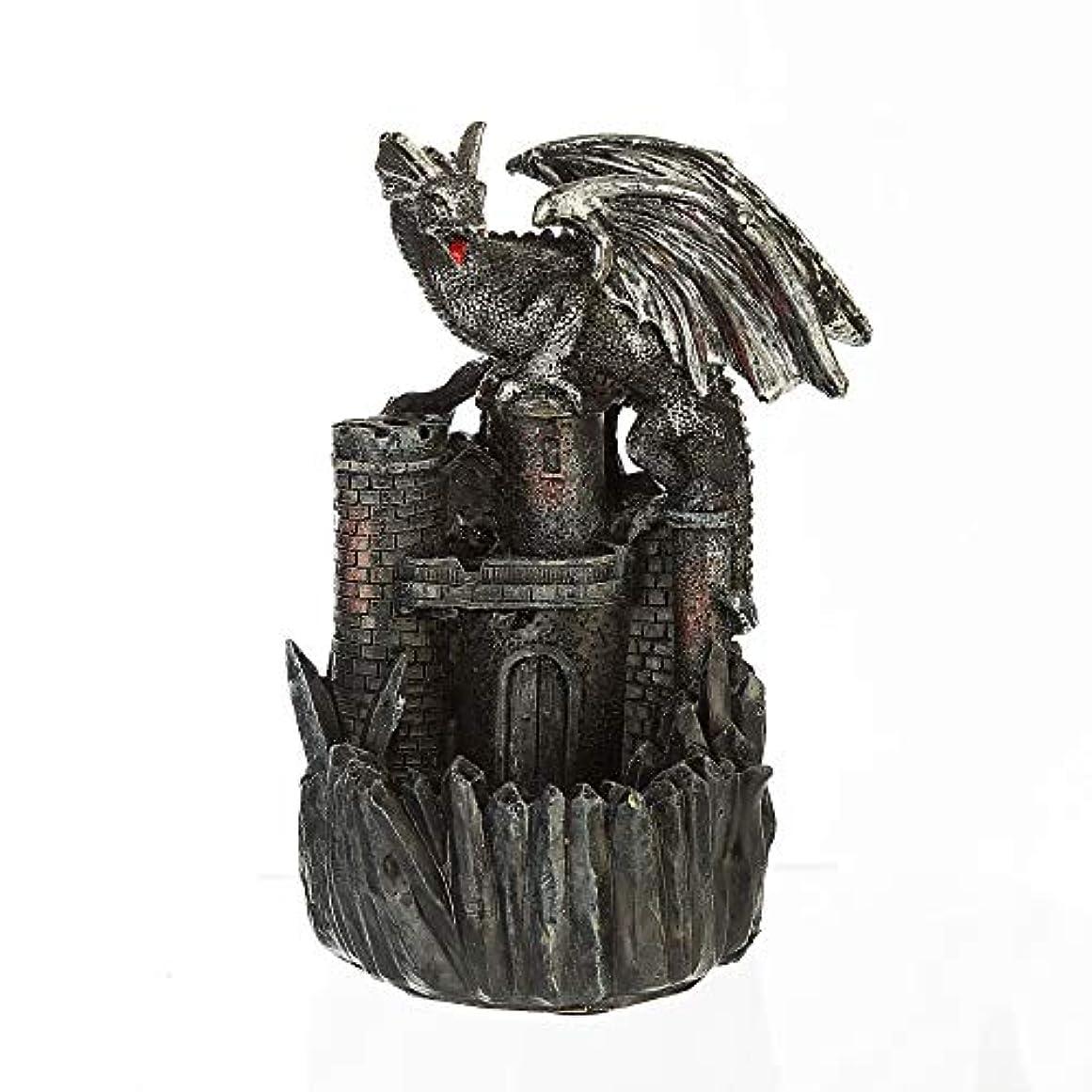 クッションシダいらいらさせる滝香スティックホームデコレーション像飾り手作りギフト置物ドラゴンクリエイティブ香11.5 * 10 * 11センチ