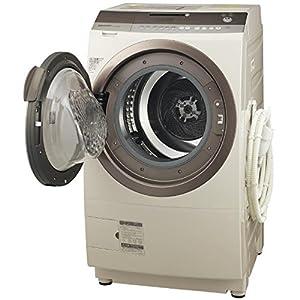 シャープ 9.0kg ドラム式洗濯乾燥機【左開き】ゴールド系SHARP プラズマクラスター洗濯乾燥機 ES-Z200-NL