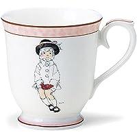 NARUMI いわさきちひろ マグカップ(こげ茶色の帽子の少女) 290cc 50673-2635