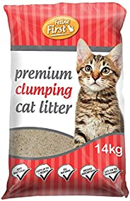 Feline First Clumping Cat Litter 14kg