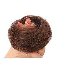 AISIHAIR お団子 ウィッグ シュシュ つけ毛 和装 部分ウィッグ ストレート ボリュームアップ 髪飾り レディース 子供用 三色