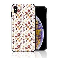 iPhone XS ケース 秋テーマ 植物 花 携帯ケース スマホ用 携帯カバー アイフォンカバー 超耐久 軽量 超薄型 擦り傷防止 全面保護 全機種対応 ソフトケース シリコン TPU