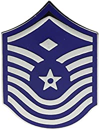 Air Force First Sergeant Unofficial 1 1 / 2インチ帽子ラペルピンhon16301
