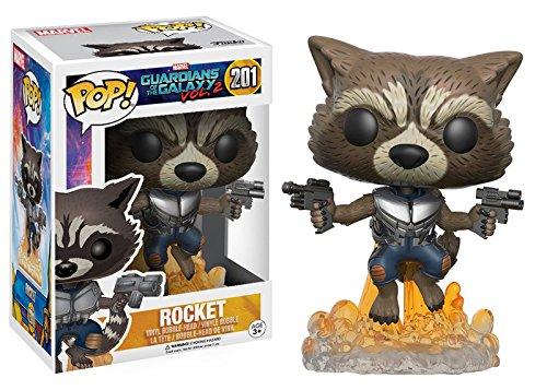 Marvel(マーベル) Guardians of the Galaxy Vol. 2(ガーディアンズ・オブ・ギャラクシー: リミックス) Rocket(ロケット) FUNKO/ファンコ POP MARVEL VINYL ボブルヘッド