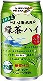 合同酒精 NIPPON PREMIUM 静岡県産緑茶ハイ 缶 340ml×24本
