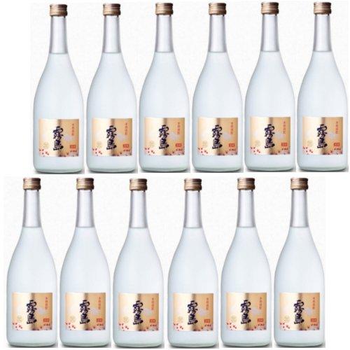 本格芋焼酎 霧島ゴールド20度720ml瓶  1ケース(12本)