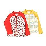 Youpi!(ユッピー)ラッシュガード(80〜130cm)キムラタンの子供服(19516-171b)イエロー120