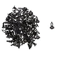 【ノーブランド品】50pcs ナイロン製 フロント バンパカバー リテーナ プッシュ型 クリップ ファスナー トヨタ対応