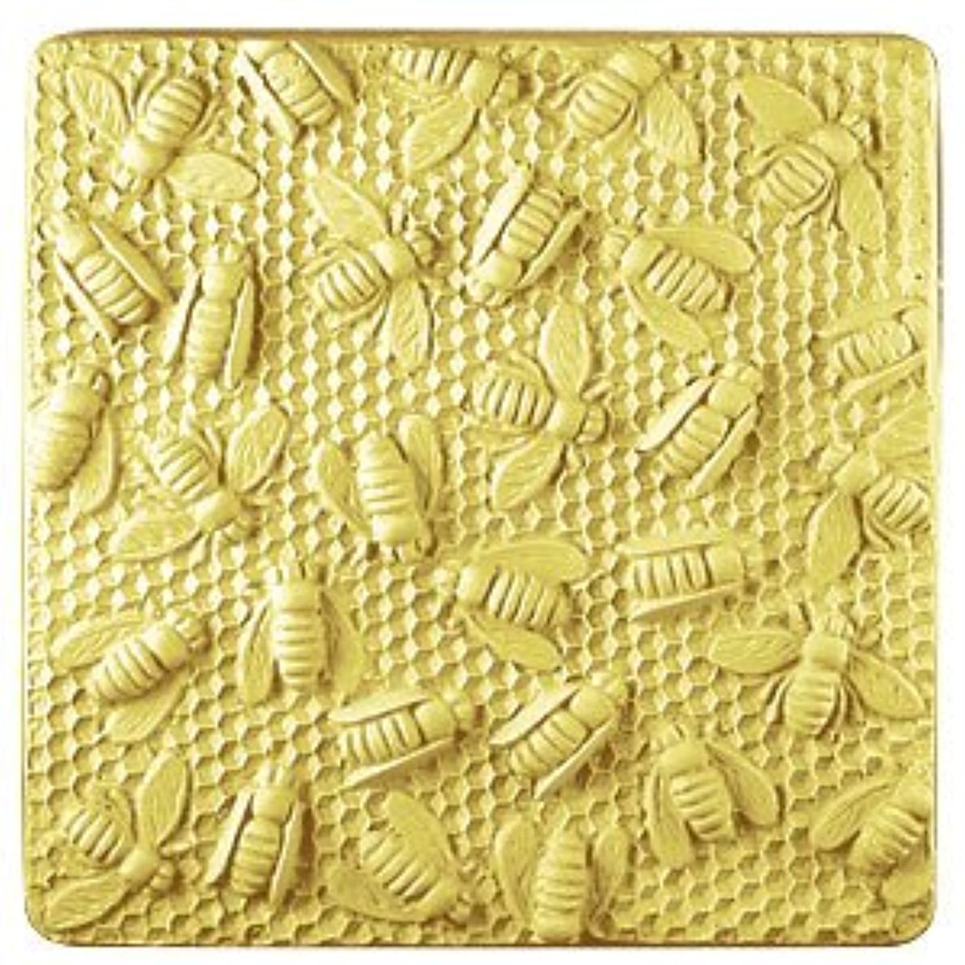 閲覧する栄光書くミルキーウェイ ミツバチ巣箱トレイ 【ソープモールド/石鹸型/シートモールド】
