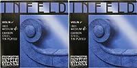 INFELD BLUE バイオリン弦4/4E線 IB01 スズメッキ/カーボンスチール(2本セット)