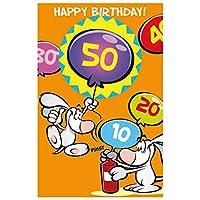 Susyカード11448453グリーティングカード誕生日Numbers