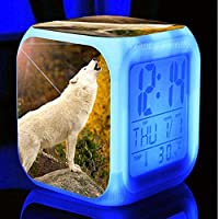 目覚まし時計LED輝くデジタル目覚まし時計子供ギフト多機能フラッシュ時計時計
