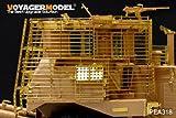 現用 IDF D9R 装甲ブルドーザー スラットアーマー メンモデルNG SS-002キット対応 [PEA318] Modern IDF D9R Armored BullDozer slat armour (FOR MENG SS-002)