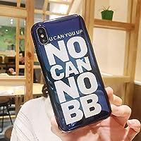 スマートフォンケース スマホケース iPhoneX iPhoneケース 携帯ケース ケース カバー ガラス 保護 耐衝撃性 iphone6plus iPhone8plus/7plus 皮製 カップル 脱着簡単 (Color : 2, Size : Iphone6plus)