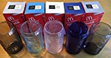 (未使用)マクドナルド・コカ・コーラパートナーシップ40周年記念 2011年製 McDonald's×Cocacola コークグラス5個 非売品