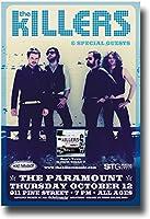 "The Killersポスターコンサート–11x 17Promo for the "" Sam 's Town "" Album–-seaparamountoct12"