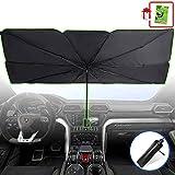 Foldable Car Sunshade Windshield Umbrella, Front Window Sun Shade Screen, Windows Protector Shield Shades, Retractable Sun Bl