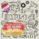 Cool Coloring Book Doodle. Anti-Stress Coloring Book - Over 360 Pictures themes include: Bee Happy, Joy, Magic, Island, Desk-Tools, Office Work, Bedroom, Desserts, Sweets Food, Transport, Birthday, Fast Food, Eggs, People, Soccer, Ecology, and more