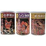 かねさ ひいふうみそ汁【わかめ】【とうふ】【しじみ】3缶パック 青森祭り缶