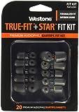 ウェストン True-Fit + Star Silicone Fit Kit WST-TRUEFIT-STAR-20 トゥルーフィット+スターシリコン イヤチップ フィットキット(10種類・10組)