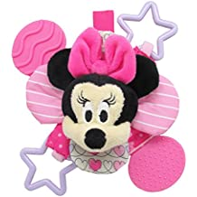 Disney - Minnie Bow Cute Petal Teether RattleStuffed Plush Toy,20 x 20 x 15cm