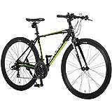 カノーバー(CANOVER) クロスバイク 自転車 21段変速 エアロチューブ アルミフレーム CAC-028 KRNOS