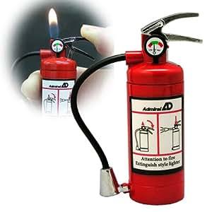 Amazon|おもしろライター 電子ライター ガスライター LEDライト付 消火器ライター|灰皿・喫煙具 オンライン通販