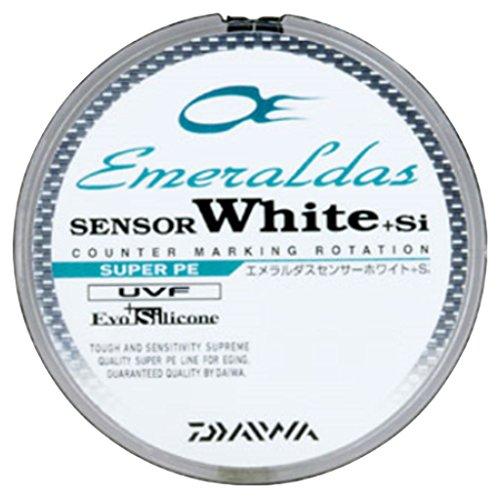ダイワ(Daiwa) PEライン エメラルダスセンサー ホワイト +Si 150m 0.5号 7.5lb ホワイト