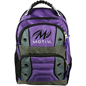 Motiv Shock 1 Ball Tote Bowling Bag Purple