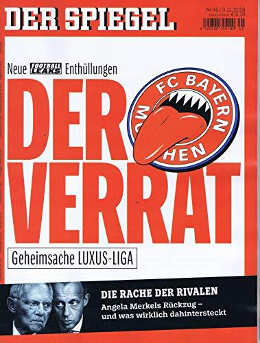 Der Spiegel [DE] No. 45 2018 (...