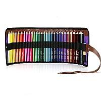 Damon 油性色鉛筆 50色セット 塗り絵 描き用 絵の具 収納ケース付き 鉛筆削り付き