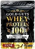 【Amazon.co.jp限定】GOLD GUTS ゴールドガッツホエイプロテイン100 ココア味 360g