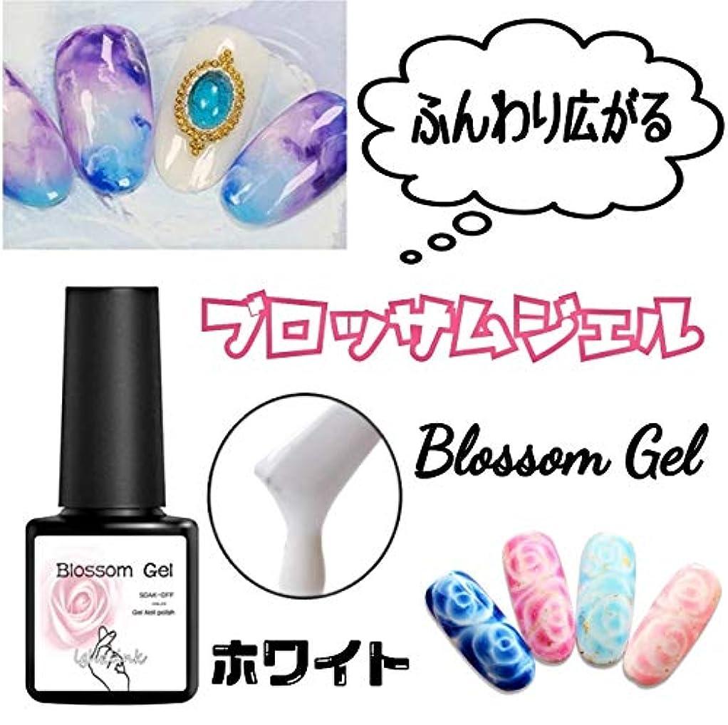 散髪防衛チャンスふんわり広がる【Blossom Gel】ブロッサムジェル 簡単にぼかしや滲みネイル ふわふわジェル