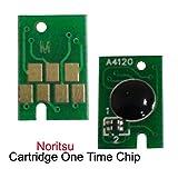 ceye for Noritsu d701d703d1005グリーンII One TimeチップインクカートリッジチップCMYK 1set = 4pcs