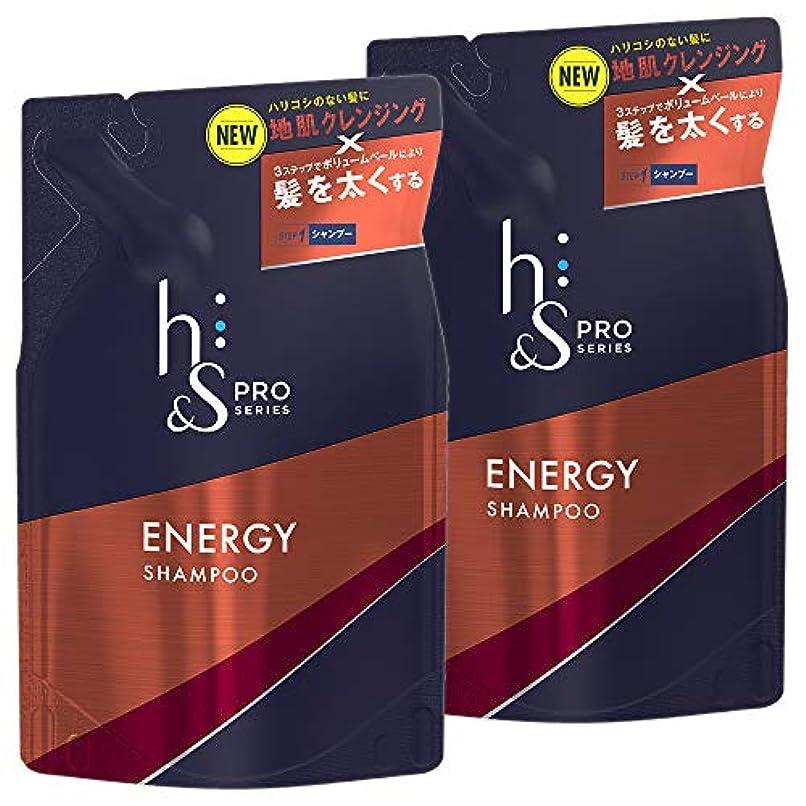 王子子犬クラウド【まとめ買い】 h&s for men シャンプー PRO Series エナジー 詰め替え 300mL×2個