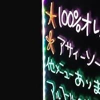 文字が光るLED手書き看板 LEDサインボード A2サイズ【屋内用】