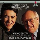 プロコフィエフ&ショスタコーヴィチ:ヴァイオリン協奏曲第1番 画像