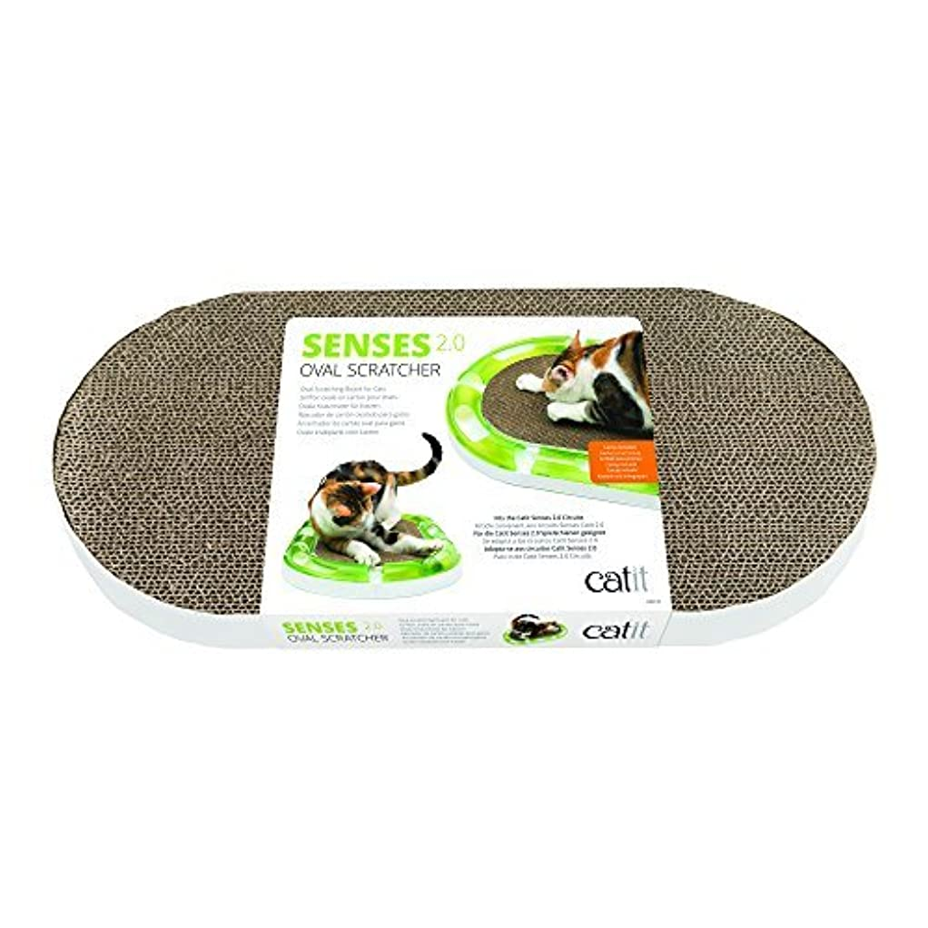 Catit 43170 Senses 2.0 Oval Scratcher [並行輸入品]
