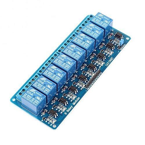 Arduino ARM PIC AVR DSP PLC 電子用 リレー モジュール シールド (5V 8チャンネル)