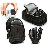 Navitech London Sony アクションカメラ FDR-X1000V/ HDR-AS200V/GoPro Hero3+ / GoPro Hero 4/ TMIジャパンZERO-AMC1108 用ハードキャリーケース (黒)