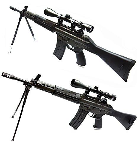 東京マルイ 電動ガン 89式5.56mm小銃 スコープ(3-9x40)セット【電動ガン スタンダードタイプ/対象年令18才以上】日本が世界に誇る、自衛隊制式採用の国産アサルトライフル【付属物:STYLE スコープ(3-9x40)+ 89式用 スコープマウントベース + 8.4V ニッケル水素1300mAh AKバッテリー + 8.4V ニッケル水素バッテリー用充電器 + 0.2g BB (1600発入) + プロターゲット専用スペアターゲット・ペーパー + LEDキーホルダー】