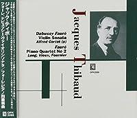 Debussy Faure Violin Sonatas