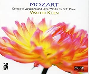 MOZART/ COMPLETE VARIATIONS AND OTHER WORKS FOR SOLO PIANO