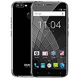 OUKITEL U22 SIMフリースマートフォン 5.5インチ 2GB RAM 16GB ROM Android 7.0 (黒)