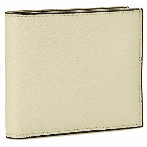 Valextra(ヴァレクストラ) 財布 メンズ グレインレザー 2つ折り財布 ホワイト V8L23-028-000WRD[並行輸入品] [ウェア&シューズ]