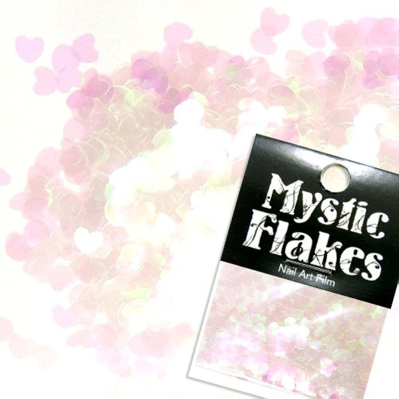 なんとなく瞑想する発表ミスティックフレース ネイル用ストーン カメレオンクリアピンク ミニハート 0.5g