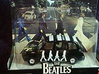 "Corgi - ThE BeAtLeS ""Abbey Road"" Album Theme Austin Taxi Detailed Diecast 1:50 Scale Collector"