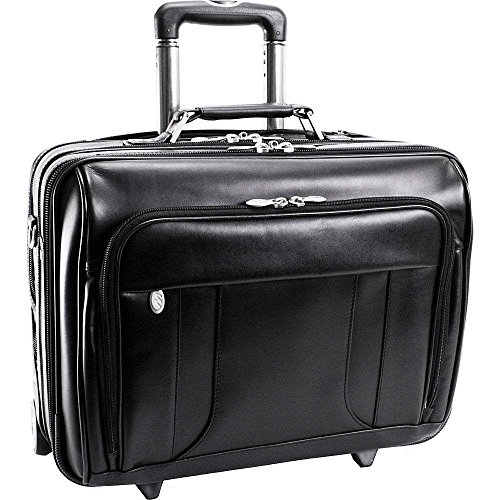 (マックレーンユーエスエー) McKlein USA メンズ バッグ キャリーバッグ Lasalle Leather 15.6' Wheeled Laptop Overnighter 並行輸入品