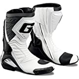 GAERNE(ガエルネ) レーシングブーツ G-RW / ジーアールダブル ホワイト 25.5cm 【総輸入元:ジャペックス】