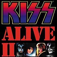 """ライセンス製品Kiss Alive 2x 3""""スクエアマグネット"""